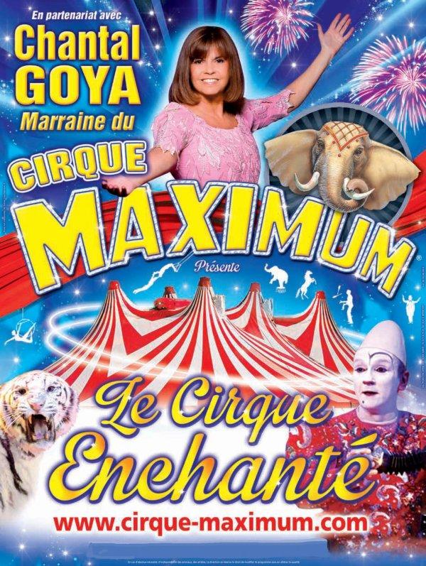 """Dernier jour pour profiter  de la nouvelle création """" Le Cirque Enchanté """"du Cirque Maximum"""