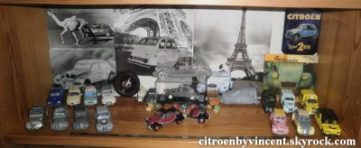 Ma collection de miniatures Citroën