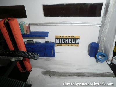 Plaque métalique Michelin
