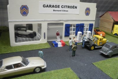 Inauguration du Garage de Citropolis