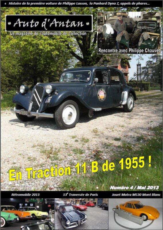 Auto d'Antan Magazine, numéro 4