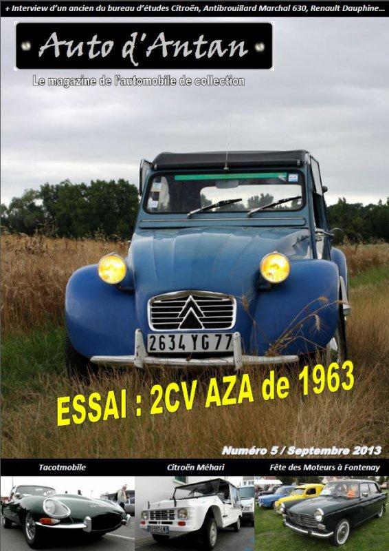 Auto d'Antan Magazine N°5