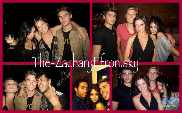 Bonjour à tous ! Voici de nouvelles photos de Zanessa à l'after party de RENT