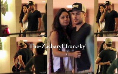 OMG !!!! Zac et Vanessa ont été vu en train de s'embrasser ainsi que s'enlacer après un dinner à Hawai . Il était tant qu'on les revoit un peu ensemble ces deux là ! Je commençais à me poser des questions ;)