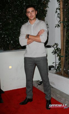 AUDI AND J. MENDEL KICK OFF PARTY OF THE 2011 GOLDEN GLOBES with Brittany Snow, Shopia Bush & Zac Efron