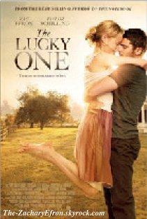 Voici un poster du film The Lucky One!!!!! Désolé mais la photo est un peu flou ^^