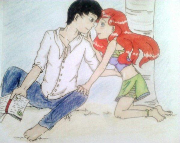 Ariel & Éric :-)(à peu près)