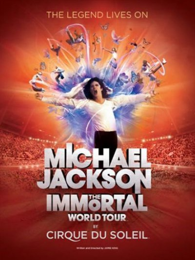 La légende du roi de la pop se perpétue : Michael Jackson - The Immortal World Tour