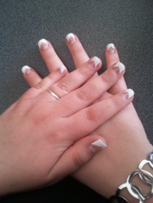 Mes deux mains!