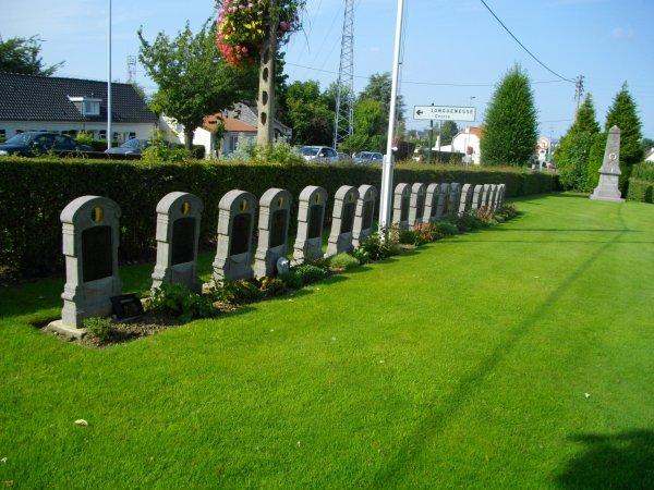 Listes des tombes militaires belges enFrance - Première Guerre mondiale