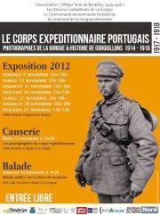Exposition sur le corp expeditionnaire portugais