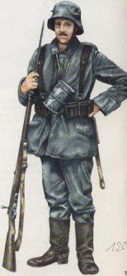 Le fusil allemand (mauser 98K)