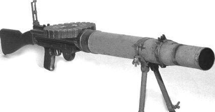 Le fusil mitrailleur Lewis Marrk 1