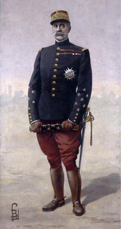 Personnages important pendant la bataille de la somme : F. Foch