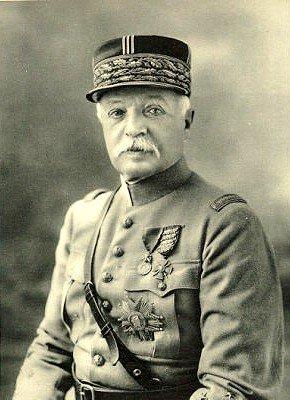 Personnages important pendant la bataille de la somme : E. Fayolle