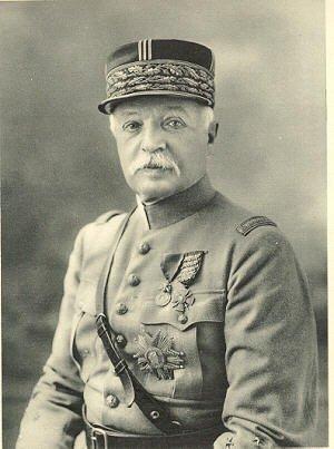 Personnages important pendant la bataille de la somme : J.Micheler