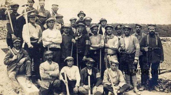 Les Z.A.B  (zivil arbeiter bataillon )