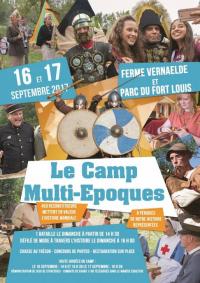 Coudekerque-lez-Dunkirk, le camp multi-époques du week-end