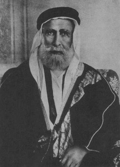1916-la révolte du désert -Hussein ben Ali (chérif de La Mecque)