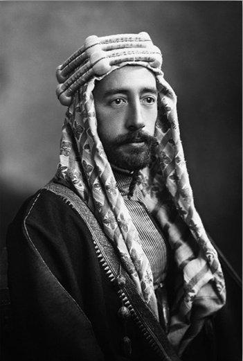 1916-la révolte du désert -Fayçal Ier (roi d'Irak)