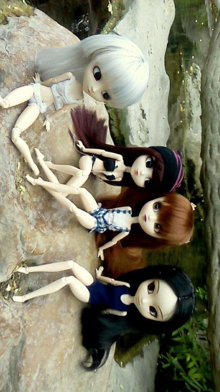 Sortie doll avec Kim et Lili