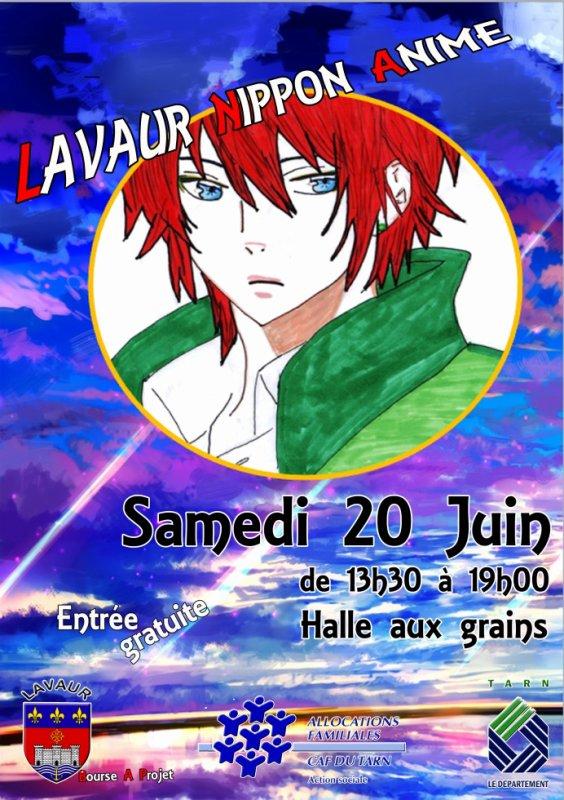 affiche du Lavaur nippon anime événementiel n°1