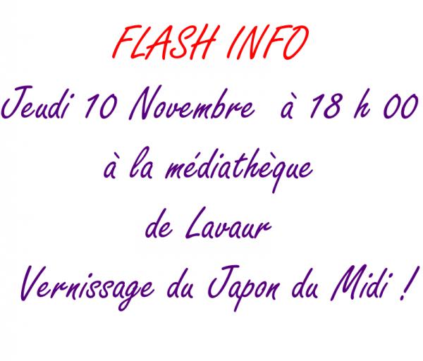 FLASH INFO Assocation Young Asia Style Va être tenir un stand à la fête du Japon le Dimanche 16 Octobre