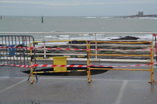 Quelques dégàts causés lors des grandes marées 4 fev