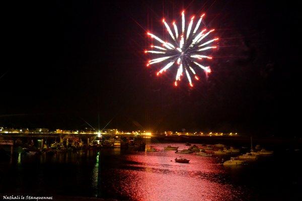 Feu d'artifice port Maria 2 mai