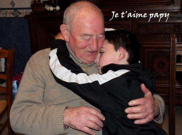 Au revoir papy LILI tu vas nous manquer