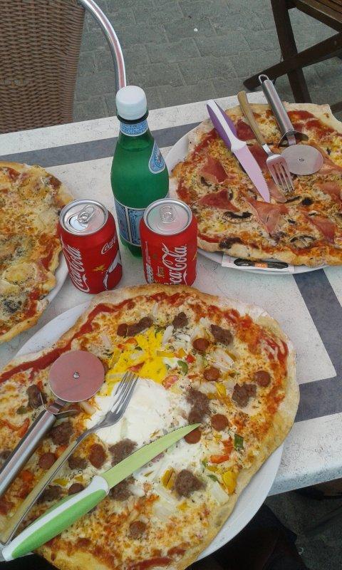hummm les bonnes pizzas de la cabane de porigo