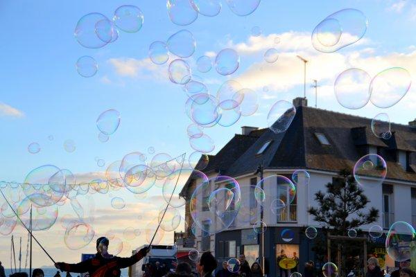 Quiberon sous les bulles