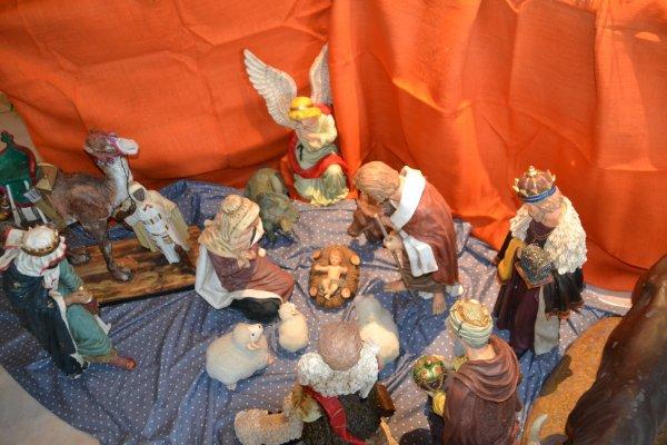Exposition de crèches à St pierre Quiberon