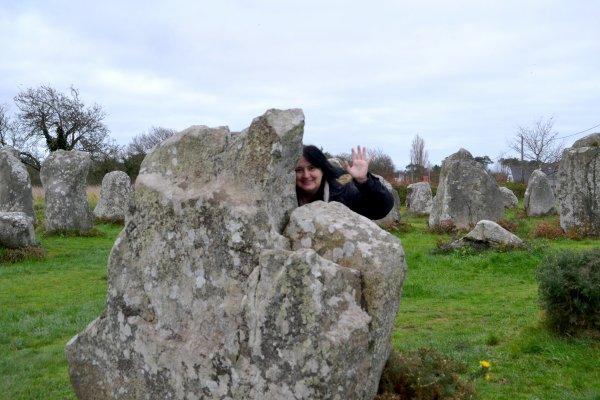 Les menhirs de Kerzerho à Erdeven