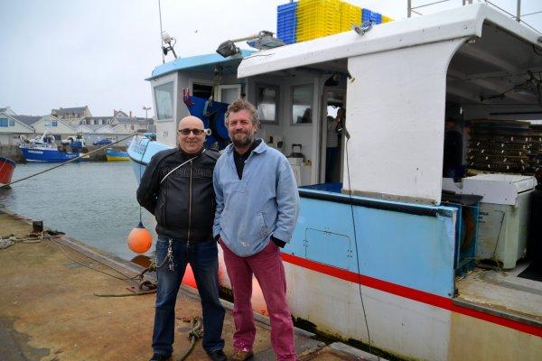 """Groupe """" CAP OUEST """" sur le bateau """"LE COUCOU"""" pour alexia 11 avril"""