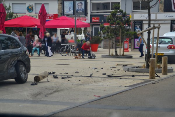 Accident place hoche 15 juin
