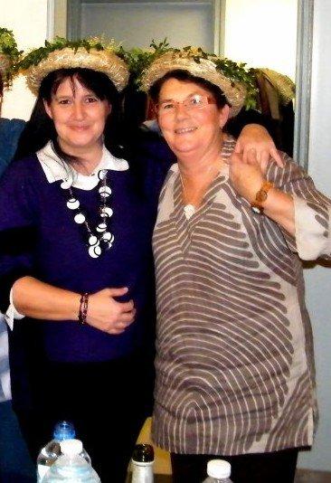 Bonne retraite à mes 2 copines sylvaine et christine avec qui j'ai passé de supers moments inoubliables