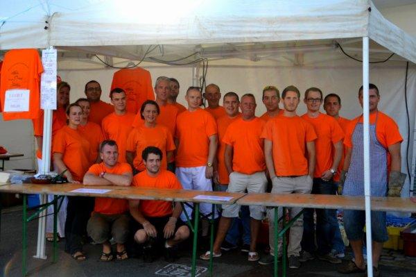 VENEZ NOMBREUX à ST JULIEN le 1er aout fête organisée par les pompiers de Quiberon et animée par l'organisation musicale