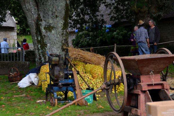 Fête du cidre à Poul Fétan 27 sept