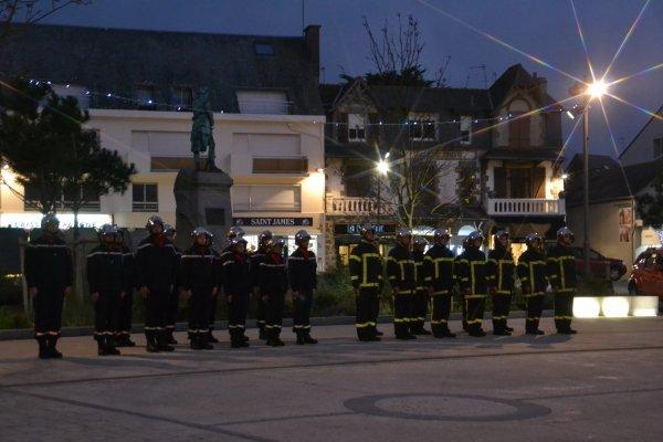 Cérémonie de la sainte Barbe Place Hoche 5 dec 2015