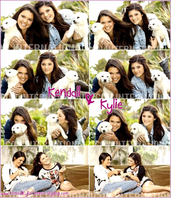 """Vous vous souvenez de ce photoshoot que Kendall & Kylie avaient réalisées pour le magazine """"OK!"""" ? Et bien des tonnes de magnifiques nouvelles photos de ce photoshoot viennent d'apparaître sur le net. Comment les trouvez-vous ? ♥"""