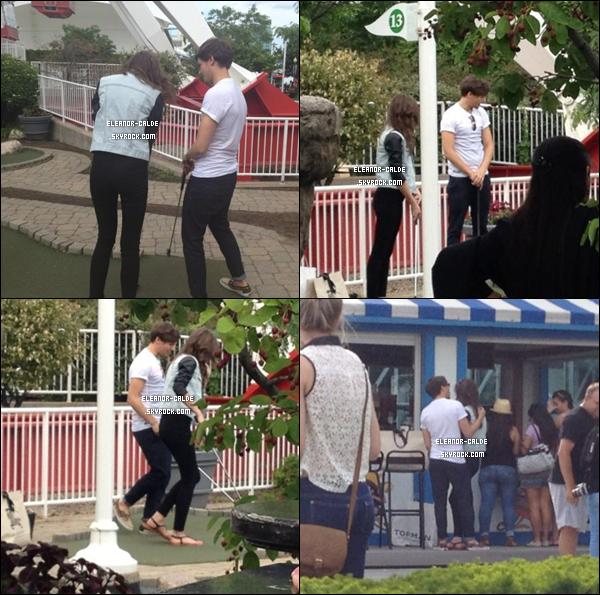 03.06.12 : Eleanor et Louis avait été faire du mini golf à Chicago .