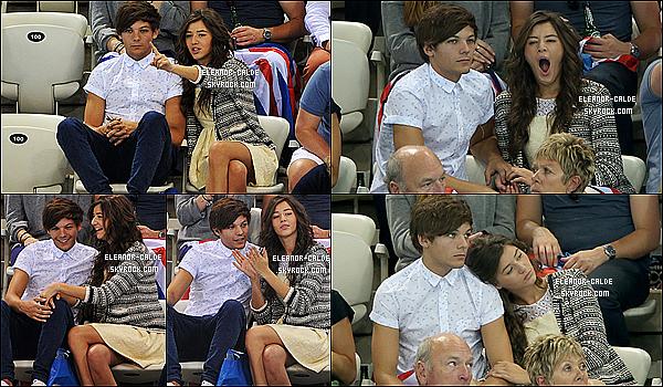 11 août 2012 : Eleanor et son amoureux , Louis se sont rendus au Jeux Olympiques à Londres.