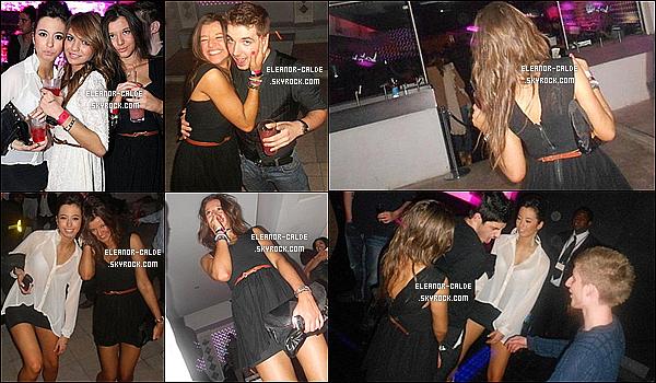 . Découvrez quelques photos (mauvaise qualités et non récentes) d'Eleanor en soirée avec des amis..