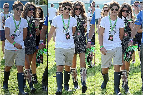. 18.08.12 : Eleanor a été vue avec son boyfriend Louis au V Festival à Chelmsford..