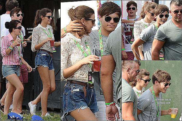 . 19.08.12 : Eleanor a été vue avec Louis au 2e jours du V Festival à Chelmsford..