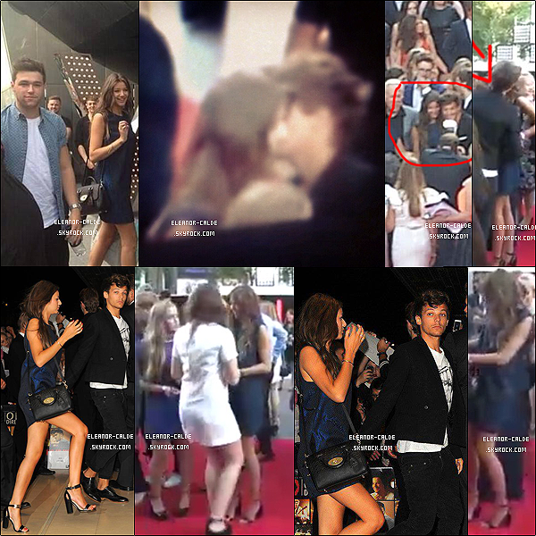 . 21.08.13 : Eleanor était avec Louis et les garçons à l'avant première de« This is us » à Londres..