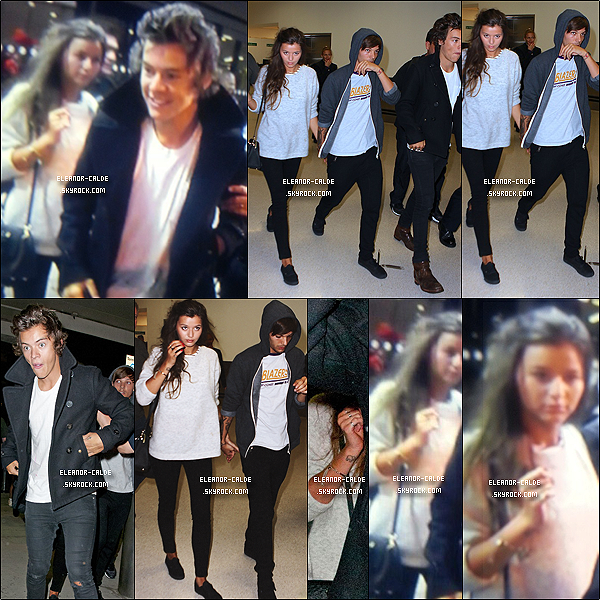 . 22.08.13 : Eleanor était avec Louis et Harry à Londres..