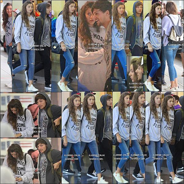 . 27.08.13 : Eleanor était avec tous les membres du groupe l'aéroport de JFK (New York) ..
