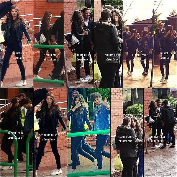 . 08.09.13 : Eleanor est arrivée avec Louis au Celtic Park à Glasgow..